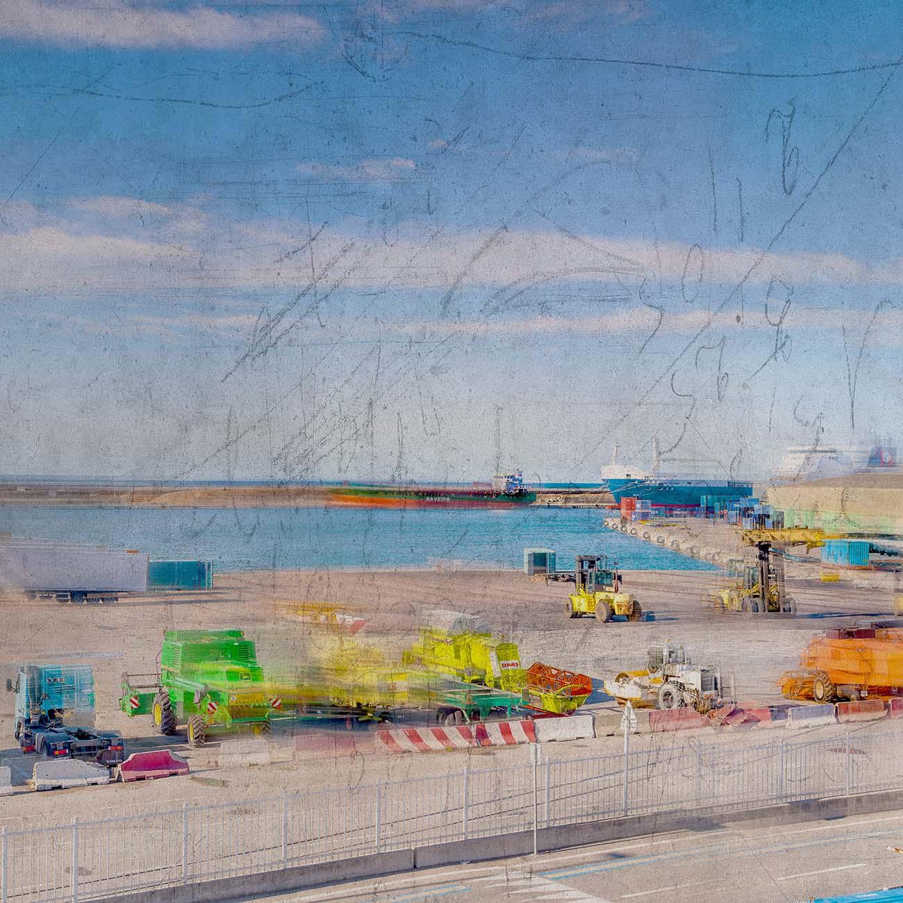 Bassin National Port Autonome Bleu Marseille Paul-Louis LEGER Photographe