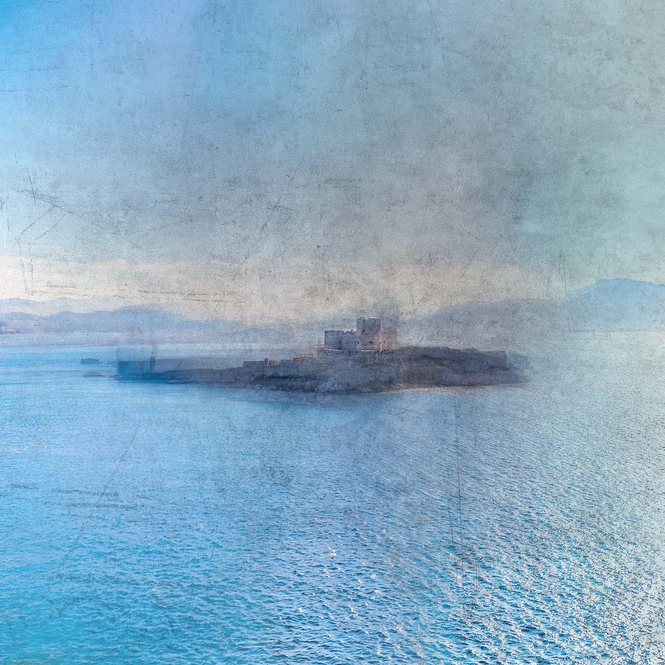 If Chateau d'If Bleu Marseille Paul-Louis LEGER Photographe