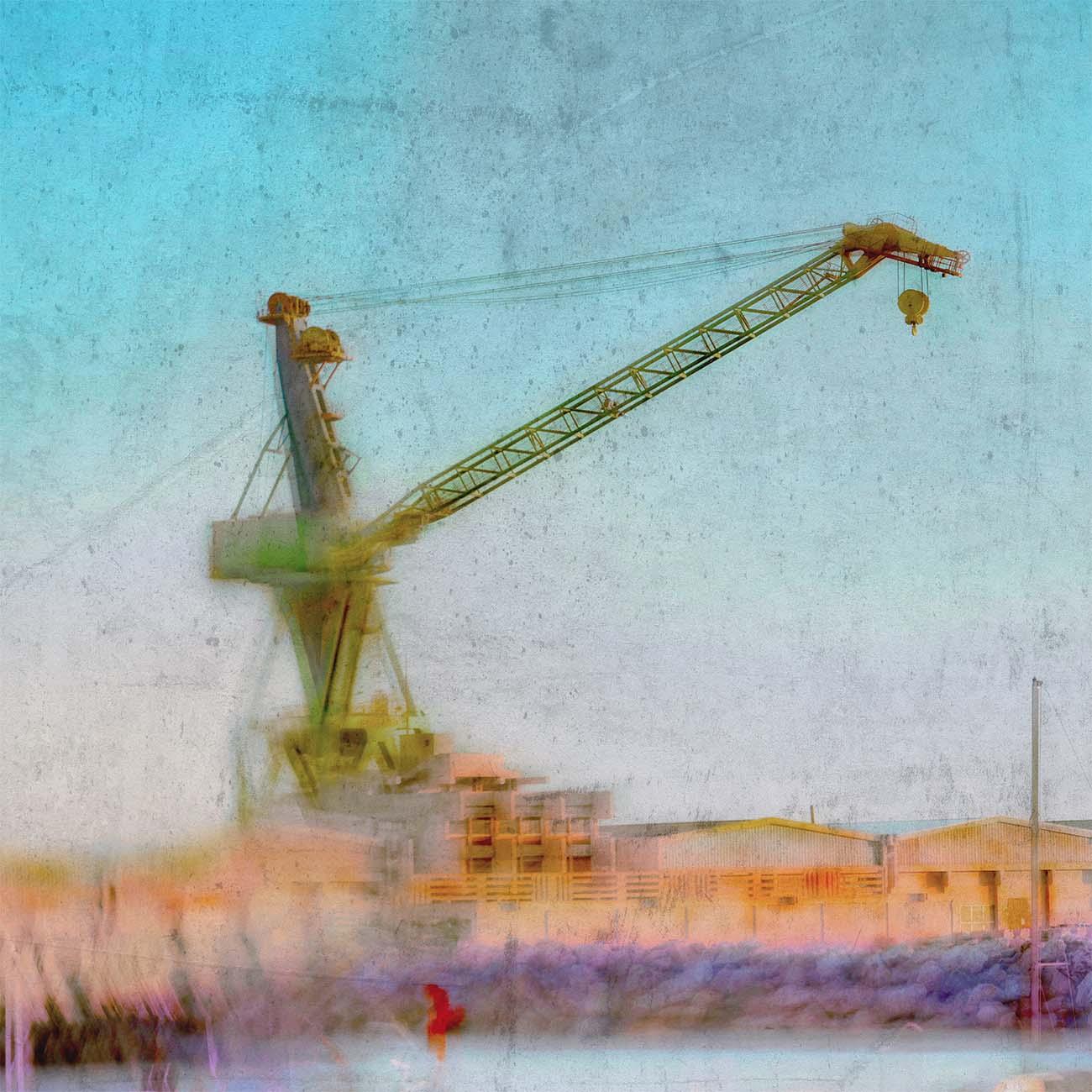 La grue de l'Estaque Bleu Marseille Paul-Louis LEGER Photographe