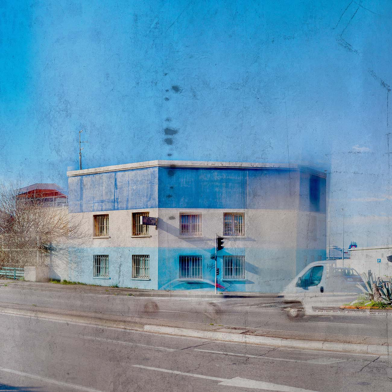 Le Bâtiment bleu Port autonome Bleu Marseille Paul-Louis LEGER Photographe