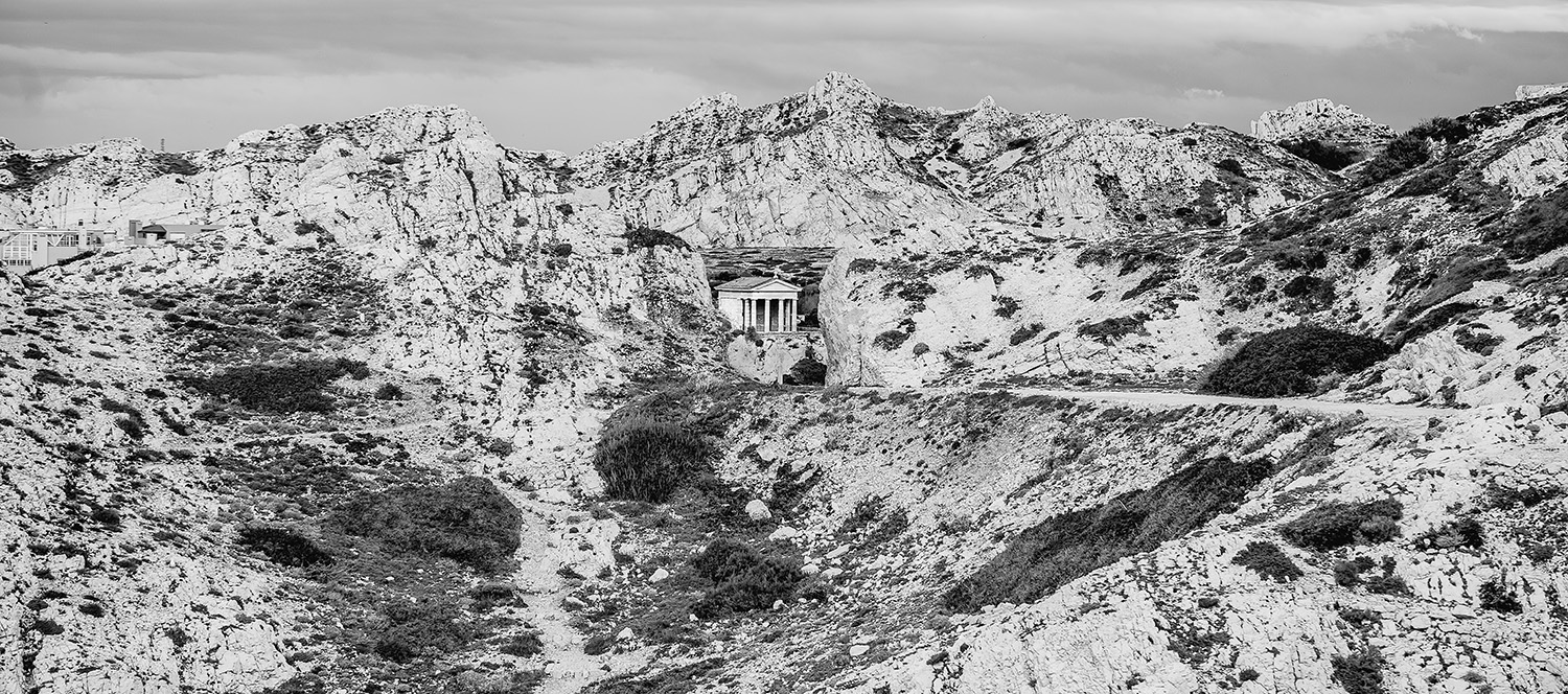 Temple- Friouleries - îles du Frioul - Photographies Paul-Louis LEGER, photographe, Marseille