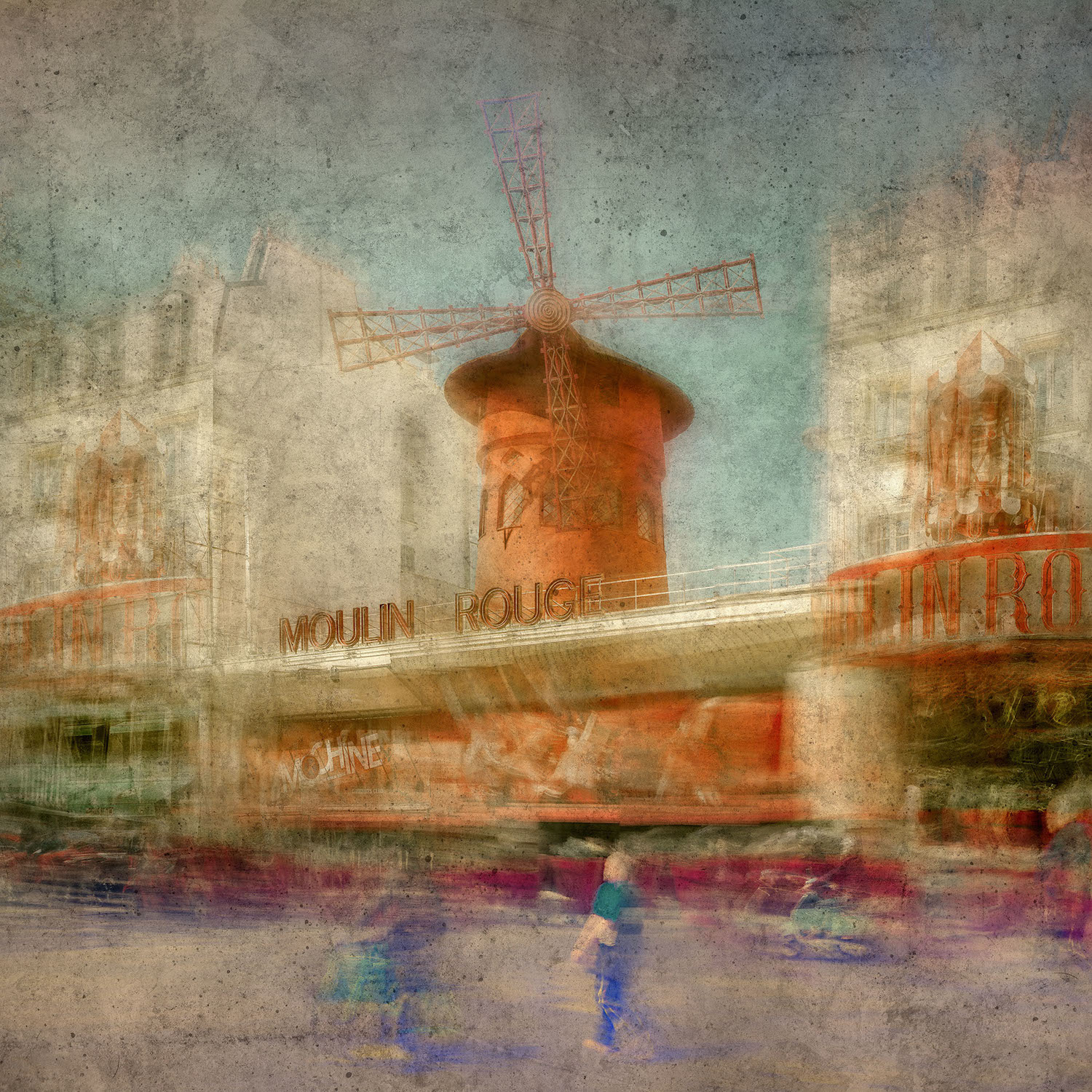 Moulin Rouge - Paul-Louis LEGER, photographe Marseille